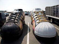 adidasのSuperstarを賛辞するプロジェクト