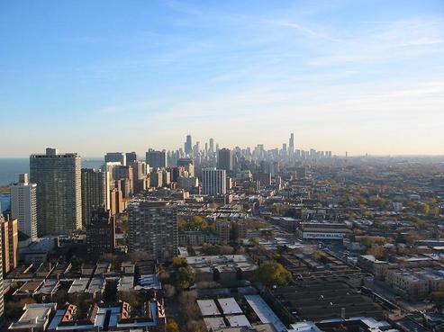 シカゴの都心部