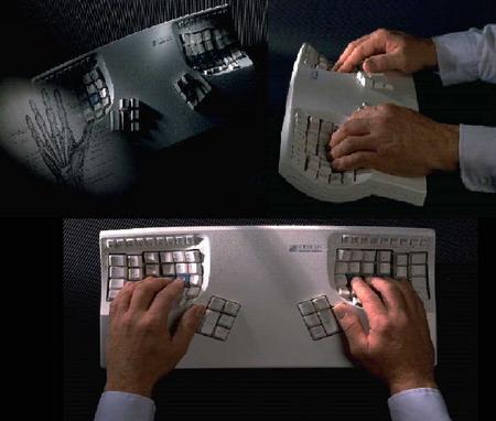 埃が貯まりやすいキーボード