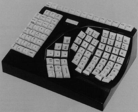 人間が小さくなりそうなキーボード