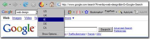 各国の検索結果を選ぶ