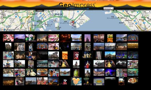 東京ディズニーランドの画像を検索