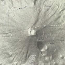 Googleマップの地形モードが新しくなった