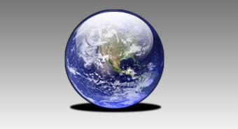 地球をWEB2.0風にする