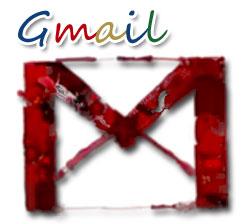 gmailの巨大アート広告