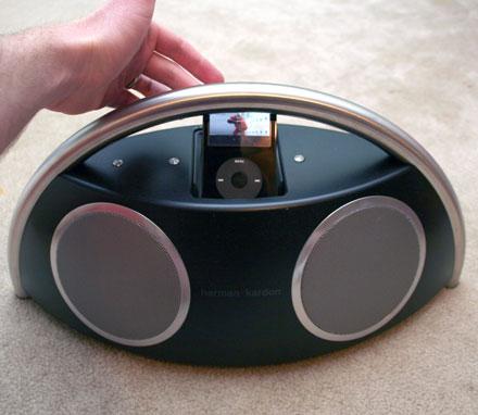harman kardon Go + Play iPod speakersの欠点