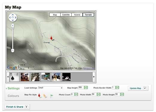 ステップ2 埋め込みマップをカスタマイズ