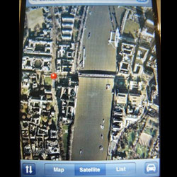 iPhone-Google-Earth