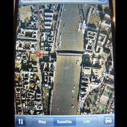iPhone-Google-Earth