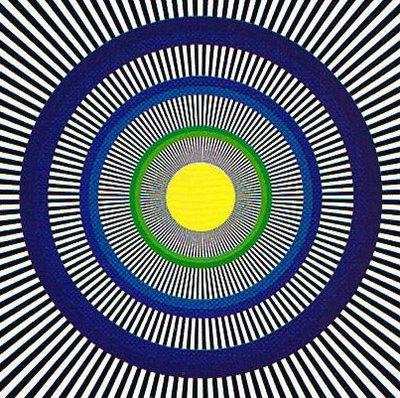 目の錯覚で回る画像