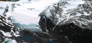 Google Earthグーグルアース、アラスカのジュノー大氷原調査の旅