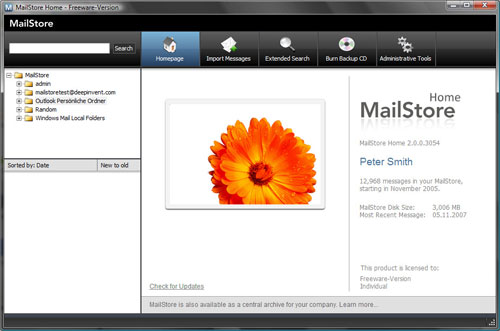 mail-storeのインターフェース