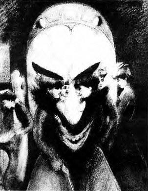 悪魔に見える目の錯覚画像1