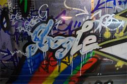 Googleの新しいチューリッヒオフィス(壁の落書き)