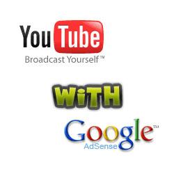 YouTubeにアドセンスを付与できるように