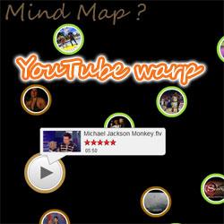 youtubeの新しい検索インターフェース「warp」
