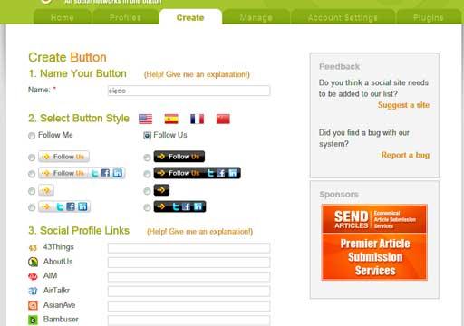日本でもメジャーなSNSや画像、動画共有サイトをはじめ、さまざまなサービスに対応。